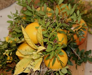 Simple Fall Centrepiece In 5 Easy Steps